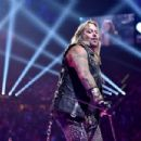 Recording artist Vince Neil of the band Motley Crue perform onstage during the 2014 iHeartRadio Music Festival at the MGM Grand Garden Arena on September 19, 2014 in Las Vegas, Nevada