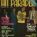 Cheap Trick - Hit Parader Magazine Cover [United States] (February 1981)