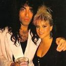 Samantha Fox and Paul Stanley