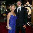 Michael Hussey and Amy Hussey - 373 x 594