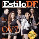 Lidia Avila, Ari Borovoy, Mariana Ochoa, Erika Zaba, Oscar Schwebel, Ov7 - Estilo Df Magazine Cover [Mexico] (10 August 2012)