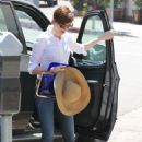 Anne Hathaway out in Studio City, CA (July 9)
