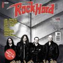 André Olbrich, Hansi Kürsch, Marcus Siepen - Rock Hard Magazine Cover [Italy] (February 2015)