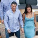 Georgina Rodriguez and Cristiano Ronaldo out in Malaga - 454 x 302