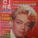 Simone Signoret - Cine Tele Revue Magazine Cover [France] (3 October 1985)