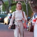 Julianne Hough – Leaves the office with a friend in Los Angeles