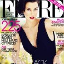 Milla Jovovich: October 2012 issue of Flare magazine