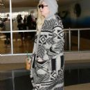 Portia Doubleday at LAX International Airport in Los Angeles - 454 x 709