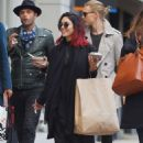 Vanessa Hudgens Street Style Out and About In Soho