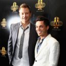 Tim Campbell and Anthony Callea