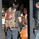 Vanessa Hudgens and Austin Butler having lunch in Venice (December 30)