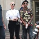 Amber Rose and 21 Savage Out in New York City - July 18, 2017