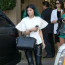Kylie Jenner At Kourtneys Baby Shower In Beverly Hills