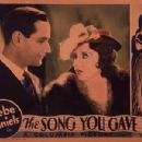 The Song You Gave Me - Bebe Daniels - 387 x 301