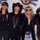 Motley Crue at the 1990 MTV Awards - 454 x 289