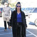 Kim Kardashian – Out to lunch in Calabassas