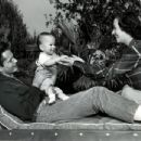 John Derek and Pati Behrs with their son Russell