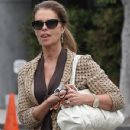 Maria Shriver leaves a meeting in Brentwood, Calif