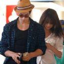 Selena Gomez and David Henrie