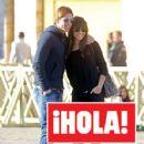 Sergio Ramos and Lara Alvarez