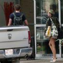 Miley Cyrus and Liam Hemsworth Alberta, Canada July 8, 2013
