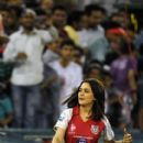 Preity Zinta at IPL match:Pune Warriors vs Kings XI Punjab