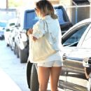 Vanessa Hudgens Hot In Shorts While Out In West Hollywood