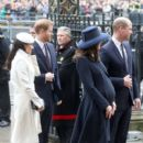 Prince Windsor and Kate Middleton :  Commonwealth Day Service And Reception