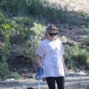 Reese Witherspoon – With Ava Elizabeth Phillippe out for a morning hike with dogs in Brentwood