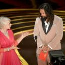 Helen Mirren and Jason Momoa At The 91st Annual Academy Awards - Show - 454 x 317