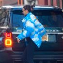 Irina Shayk – Steps out in NYC