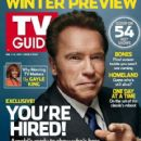Arnold Schwarzenegger - TV Guide Magazine Cover [United States] (2 January 2017)