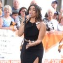 Jordin Sparks Performing On The Today Show In Nyc