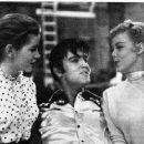 Dolores Hart, Elvis Presley and Jana Lund