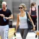 Ashley Tisdale: Pre-BBQ Calorie Burner