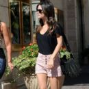 Rachel Bilson shopping at The Grove with a friend.October 2,2011