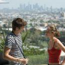 Ashton Kutcher as Nikki with Margarita Levieva as Heather in David Mackenzie comedy 'Spread.'