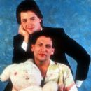 Harvey Fierstein and Matthew Broderick