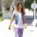 Jessica Alba: out in Beverly Hills