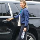 Maria Sharapova is seen leaving the gym on January 10, 2017 - 400 x 600