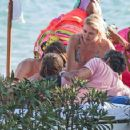 Valeria Mazza – Enjoys a Holiday With Her Family on the Beach in Marbella 8/11/2016 - 454 x 357