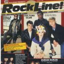 Boy George, Simon Le Bon, Nick Rhodes, John Taylor, Roger Taylor, Andy Taylor - RockLine! Magazine Cover [United States] (January 1985)