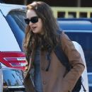 Natalie Portman: out and about in Los Angeles