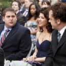 Jonah Hill, Marisa Tomei and John C. Reilly; Photo by Chuck Zlotnick