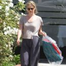 Ali Larter: picking up some clothes from a dry cleaner in Marina Del Rey