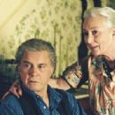 Cliff Robertson and Rosemary Harris as Uncle Ben and Aunt May in Columbia Pictures' Spider-Man - 2002