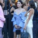 Lucy Hale – Leaving the Jonathan Simkhai Event in Los Angeles