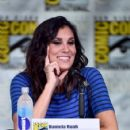 """Actress Daniela Ruah attends CBS Television Studios Block including """"Scorpion,"""" """"American Gothic"""" and """"MacGyver"""" during Comic-Con International 2016 at San Diego Convention Center on July 21, 2016 in San Diego, California"""