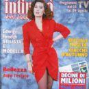 Edwige Fenech - Intimita' Magazine Cover [Italy] (30 August 1990)