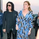 Gene Simmons And Shannon Tweed Are Seen Outside Avalon - 400 x 600